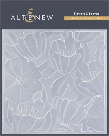 Altenew 3D kohokuviointikansio Flowers & Leaves