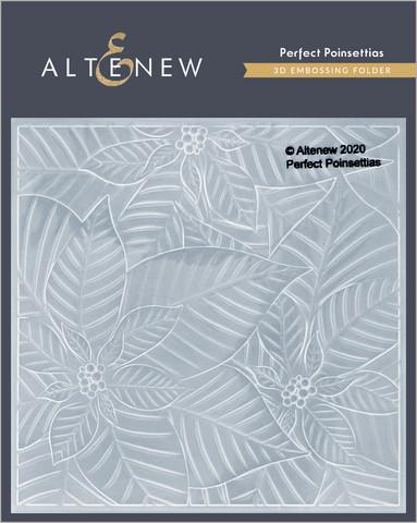 Altenew 3D kohokuviointikansio Perfect Poinsettias