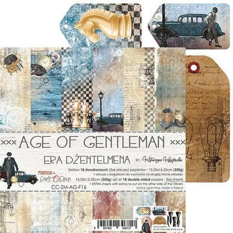 Craft O'clock paperipakkaus Age of Gentleman