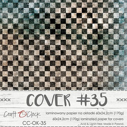 Craft O'clock Cover -paperi 35, Age of Gentleman  60 x 24.2 cm