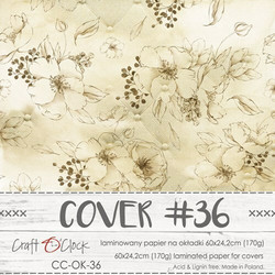 Craft O'clock Cover -paperi 36, Lovely When You Smile  60 x 24.2 cm