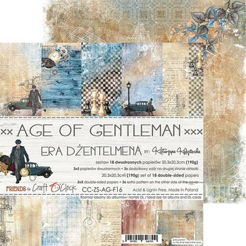 Craft O'clock paperipakkaus Age of Gentleman, 8