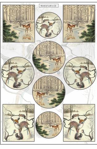 World of Craft korttikuvat 022, helmiäispaperi