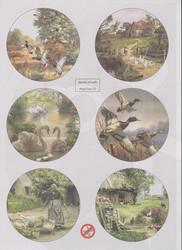 World of Craft korttikuvat 15, helmiäispaperi, leikattu