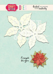 Craft & You stanssisetti Poinsettia