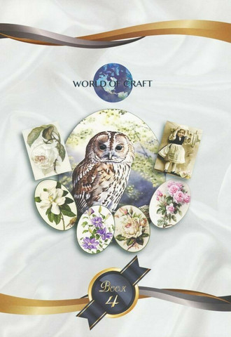 World of Craft korttikuvakirja nro 4