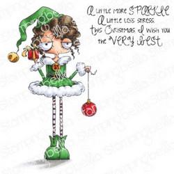 Stamping Bella Oddball Girl Elf -leimasinsetti