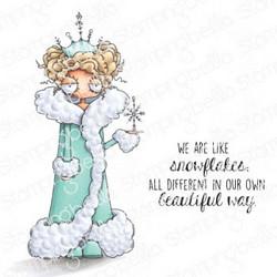 Stamping Bella Oddball Snow Queen -leimasinsetti