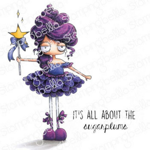 Stamping Bella Oddball Sugar Plum Fairy -leimasinsetti