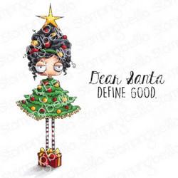 Stamping Bella Oddball Christmas Tree -leimasinsetti