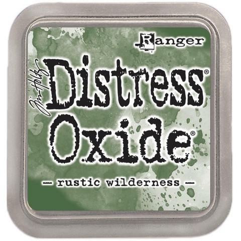 Distress Oxide -mustetyyny, sävy Rustic Wilderness