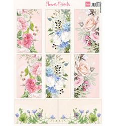 Marianne Design Flower Panels -korttikuvat