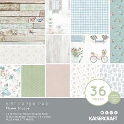Kaisercraft paperikko Flower Shoppe
