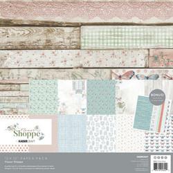 Kaisercraft paperipakkaus Flower Shoppe, 12