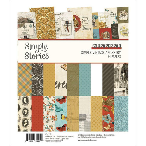 Simple Stories Simple Vintage Ancestry -paperipakkaus