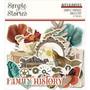 Simple Stories Simple Vintage Ancestry Bits & Pieces Die-Cuts, leikekuvat