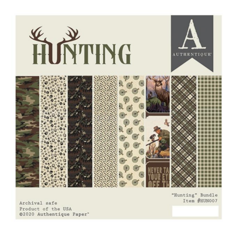 Authentique paperipakkaus Hunting