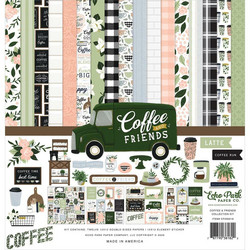 Echo Park Coffee and Friends -paperipakkaus, 12