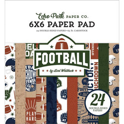Echo Park Football -paperipakkaus