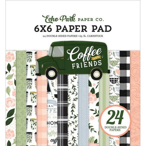 Echo Park Coffee and Friends -paperipakkaus