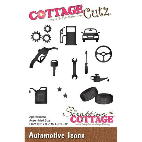 CottageCutz stanssi Automotive Icons