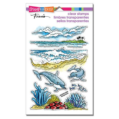 Stampendous leimasinsetti Dolphin Play