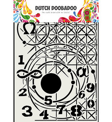 Dutch Doobadoo Geometry -sapluuna, A4