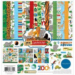 Carta Bella Zoo Adventure -paperipakkaus, 12