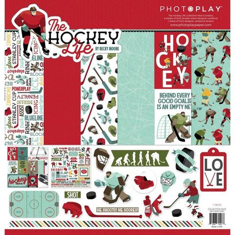 PhotoPlay The Hockey Life -paperipakkaus, 12