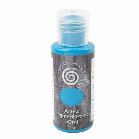 Cosmic Shimmer Andy Skinner Artis Pigment Paint -maali, sävy Primary Blue