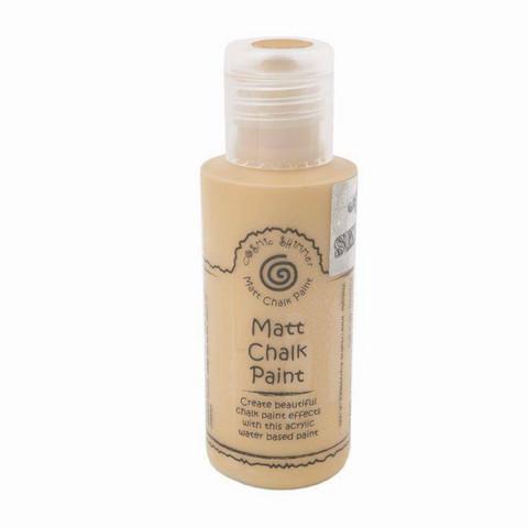 Cosmic Shimmer Andy Skinner Matt Chalk Paint -maali, sävy Mustard Seed
