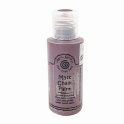Cosmic Shimmer Andy Skinner Matt Chalk Paint -maali, sävy Chestnut