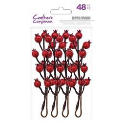 Crafter's Companion Red Berries -koristemarjat