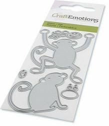 CraftEmotions Monkeys -stanssisetti