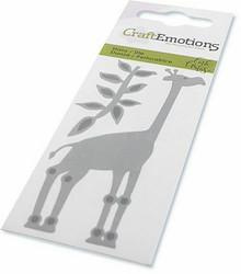 CraftEmotions Giraffe -stanssisetti