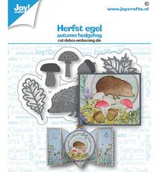 Joy! crafts  Autumn Hedgehog -stanssisetti
