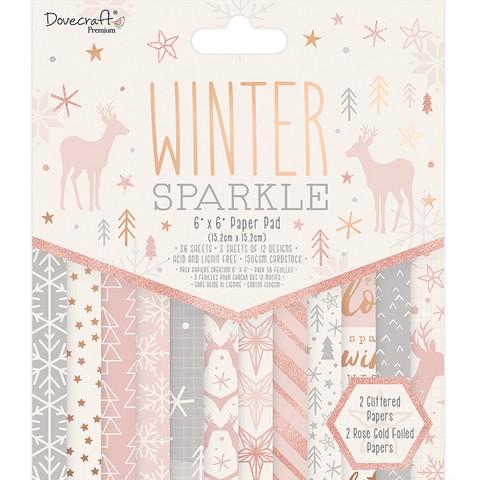 Dovecraft paperipakkaus Winter Sparkle