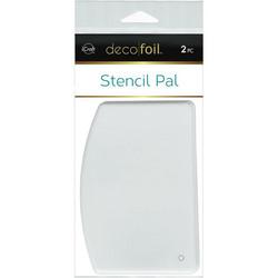 Deco Foil Stencil Pal -lastat, 2 kpl