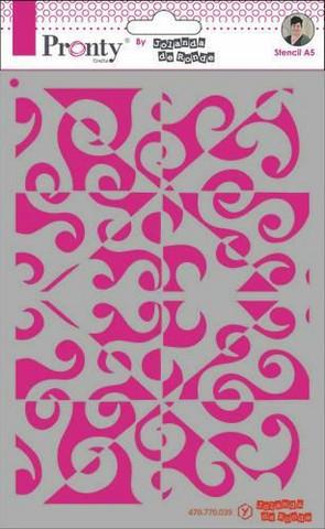 Pronty sapluuna Pattern Background, A5