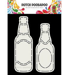 Dutch DooBaDoo Card Art Beer Bottle -sapluunat