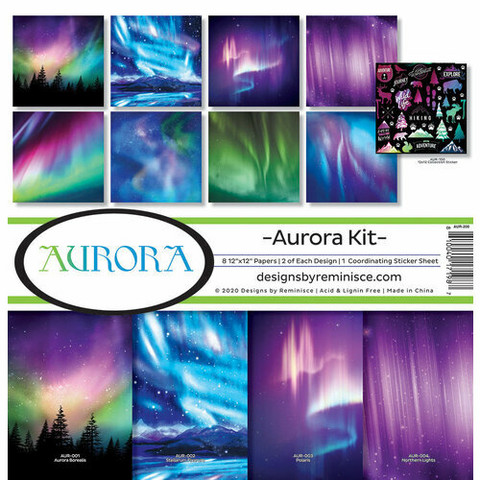 Reminisce Aurora -paperipakkaus 12