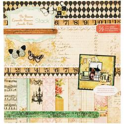 DCWV Primrose -paperipakkaus, 12