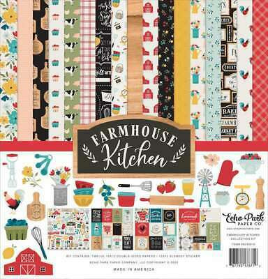Echo Park Farmhouse Kitchen -paperipakkaus, 12