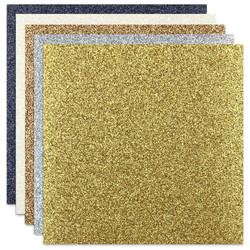 ETC Papers glitterkartonki Metallics, 12