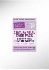 CenturaPearl helmiäiskartonki, sävy Hint of Silver, 50 kpl
