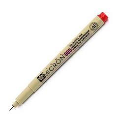 Sakura Pigma Micron Pen, punainen, 0.20 mm