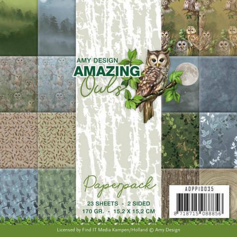 Amy Design paperikko Amazing Owls