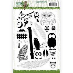 Amy Design leimasinsetti Amazing Owls