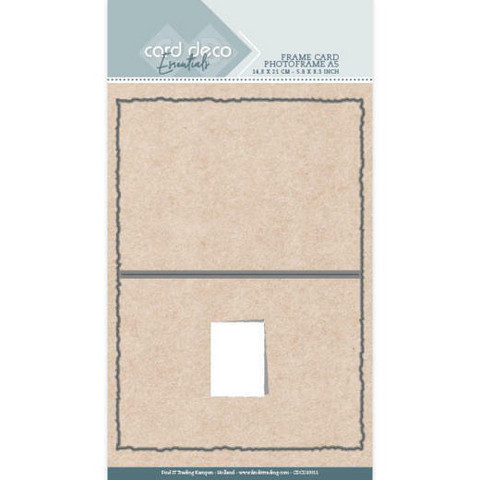 Card Deco stanssi Photoframe A5