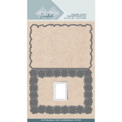 Card Deco stanssi Snowflakes A5